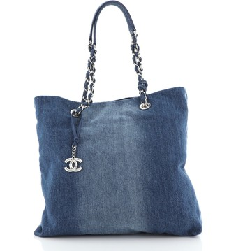 Chanel Open Tote Denim Medium