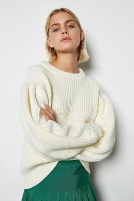 Karen Millen Chunky Rib Knit Jumper