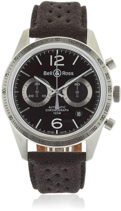 Bell & Ross Br 126 Gt Chrono Steel Watch