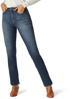 Lee Women's Straight-Leg Ankle Jeans