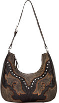 American West Women's Cowgirl Wings Scoop Top Structured Hobo