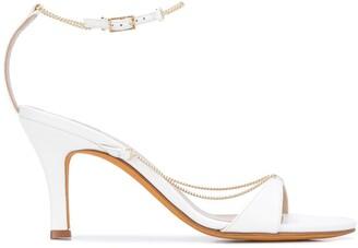Maryam Nassir Zadeh Aurora chain straps sandals