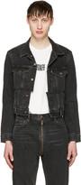 Vetements Black Levis Edition Reworked Denim Jacket