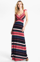 French Connection Stripe Maxi Dress
