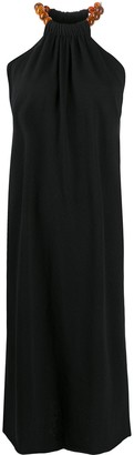 Jil Sander Halterneck Knitted Dress