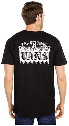 Vans Welcome Committee Short Sleeve Tee (Black) Men's T Shirt