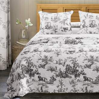 Greenland Home Fashions Home Classic Toile Bedspread Set