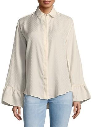 Iro . Jeans Brixa Button-Down Shirt