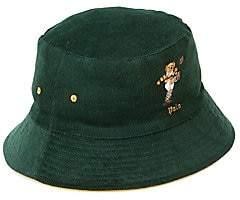 Polo Ralph Lauren Men's St. Andrew Kicker Bear Reversible Bucket Hat