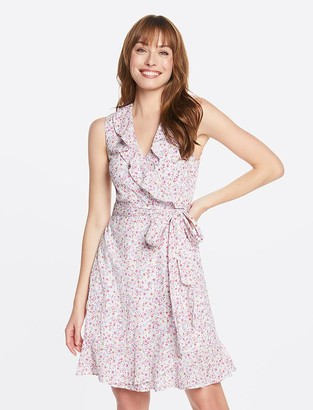 Draper James Flutter Wrap Dress