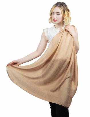 SEW ELEGANT NEW Ladies Women Luxurious Sheen Shine Silk Feeling Plain Scarf Copper