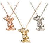 Disney Mickey Mouse Figure Diamond Necklace - 18 Karat