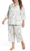 Lauren Ralph Lauren Plus Size Women's Capri Pajamas