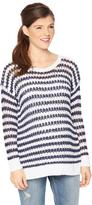 Motherhood Striped Maternity Sweater