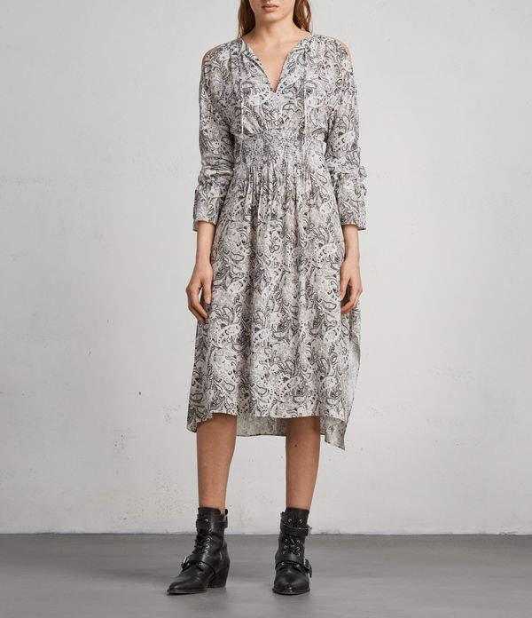 AllSaints Lavete Paisley Dress