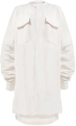 Annafora ADIAM Oversized Raglan Button Up