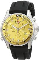 Boscé men's Automatic Watch Analogue Display and Rubber Strap BO-HQ22026-904G