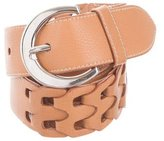 Jil Sander Leather Cutout Belt
