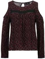 Superdry FERN Blouse splattered floral plum