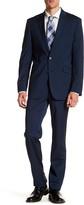 Kenneth Cole New York Blue Two Button Notch Lapel Suit