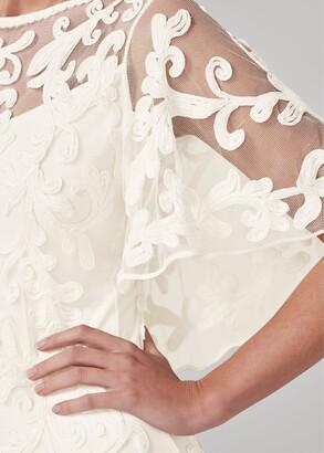 Phase Eight Avianna Tapework Lace Wedding Dress