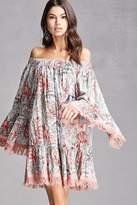 Forever 21 Z&L Europe Floral Print Dress