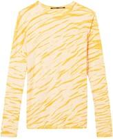 Proenza Schouler animal print long-sleeved T-shirt
