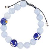 Armenta Agate & African Glass Beaded Bracelet