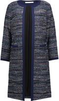 Diane von Furstenberg Nalda cotton-blend tweed coat