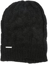 Nine West Women's Cable Elongated Slouchy Beanie