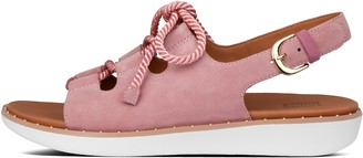 FitFlop Felicity Lace-Up Suede Back-Strap Sandals