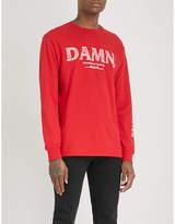 TDE DAMN. Official Merch Kung-Fu Kenny cotton-jersey top