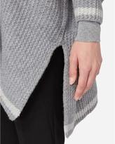N.Peal Chunky Crocodile Knit Cashmere Cardigan