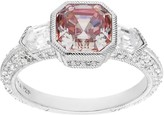 Judith Ripka Sterling 2.75-ct-tw Asscher-Cut Diamonique Ring