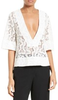 A.L.C. Women's Virginia Lace Top