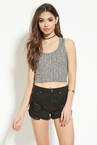 Forever 21 Ribbed Crop Top