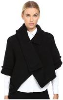 Y's by Yohji Yamamoto - Layered Short Jacket Women's Coat