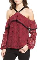 WAYF Helena Lace Top