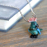 Undercover Parrot Charm Necklace