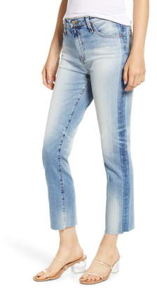 AG Jeans Isabelle High Waist Shadow Seam Ankle Jeans