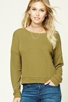 Forever 21 FOREVER 21+ Contemporary Boxy Sweatshirt