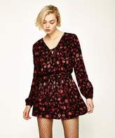 Don't Ask Amanda Bellevue Long Sleeve Mini Dress Floral