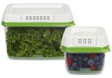 Rubbermaid FreshWorks 2-Pc. Produce Saver Set