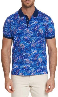 Robert Graham Men's Kalamata Graphic Polo Shirt