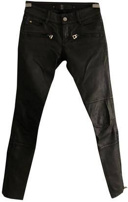 Barbara Bui Black Cotton - elasthane Jeans for Women