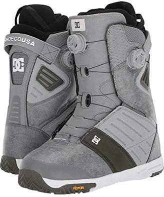 DC Judge Dual BOA(r) Snowboard Boots (Grey) Men's Snow Shoes