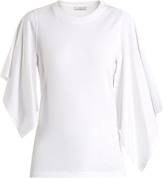J.W.Anderson Draped-sleeve jersey T-shirt