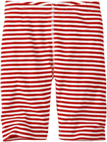 Hanna Andersson Apple Red Stripey Bike Shorts