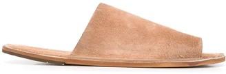 Marsèll Distressed Leather Slides