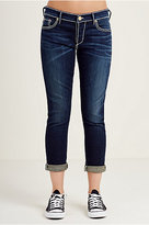 True Religion Liv Relaxed Skinny Super T Womens Jean